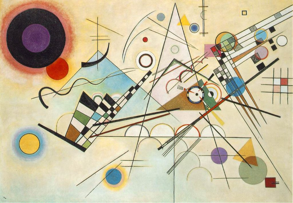 Composition VIII by artists Wassily Kandinsky