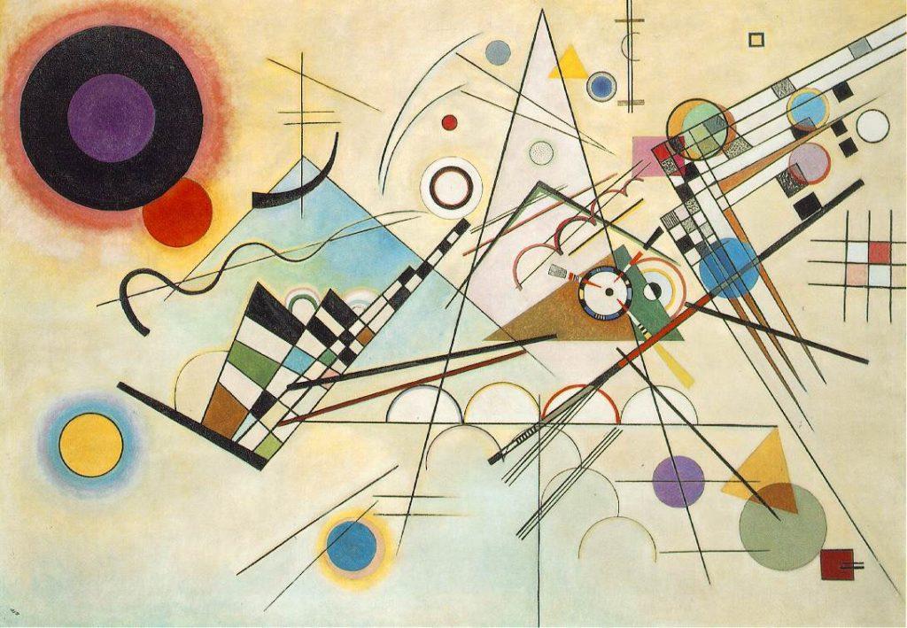 Komposition VIII von Künstler Wassily Kandinsky