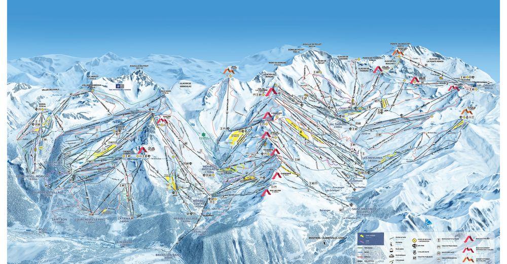 Ski area: Les Trois Vallées