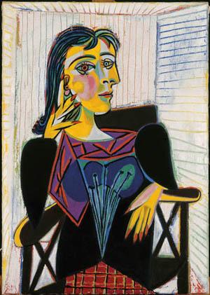 Portret de Dora Maar van artiesten Pablo Picasso