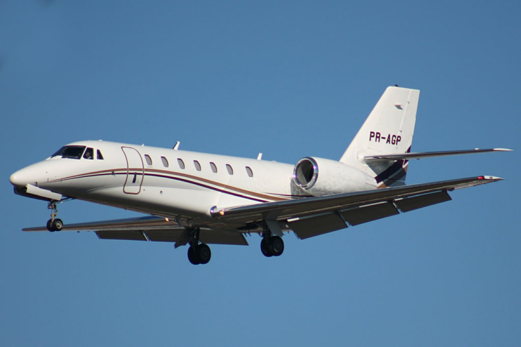 The mid size jet Citation Sovereign