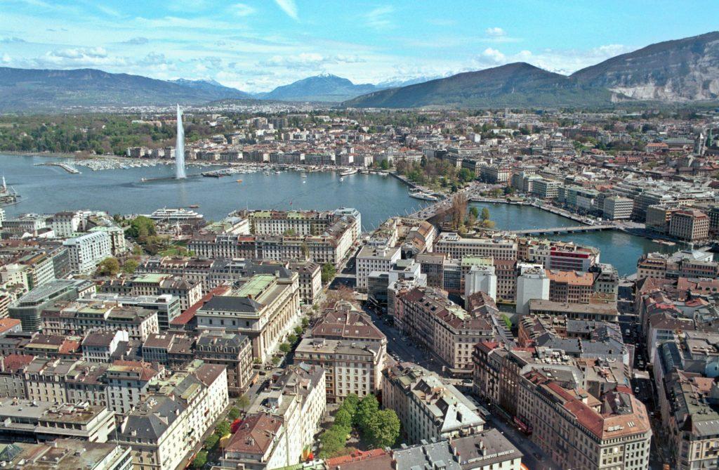 Meistgeflogene Ziele mit einem Privatjet: Genf