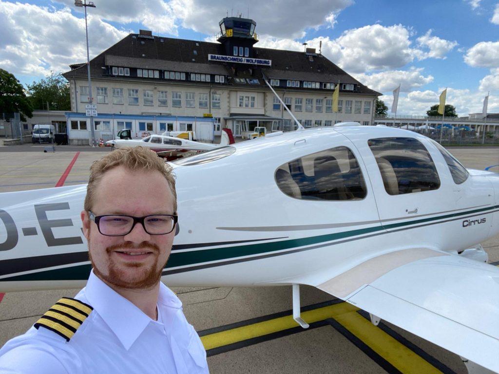 Notre pilote Fly Aeolus qui a accepté de participer à l'interview