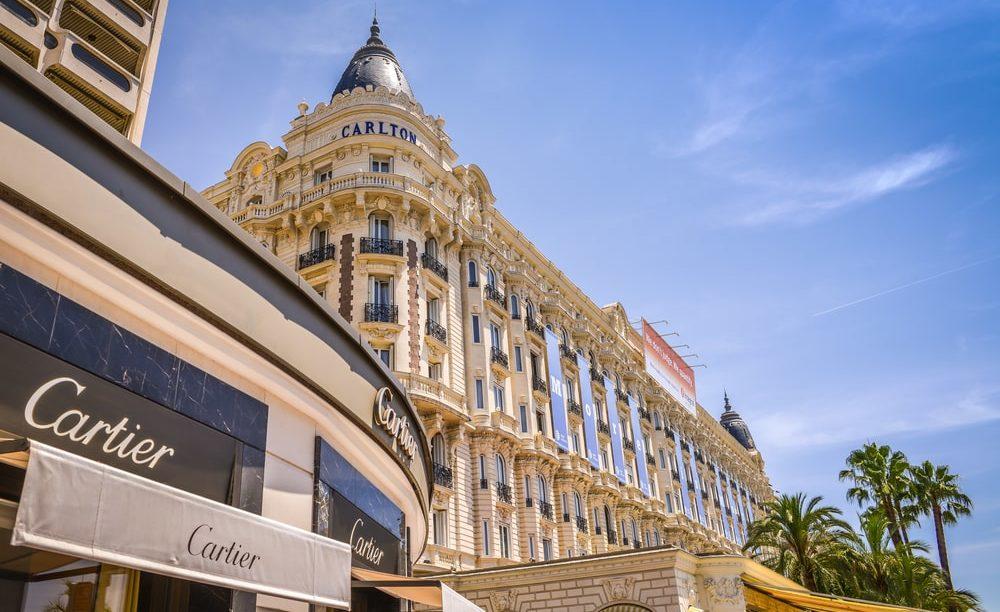 Cannes La Croisette cote d'azur