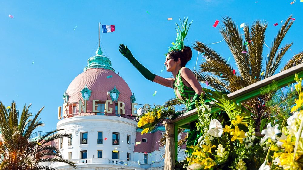 Carnival of Nice and battle of flowers