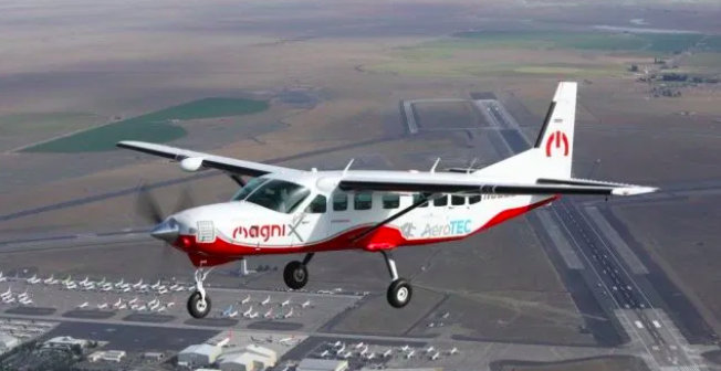 The Cessna 208, electric plane