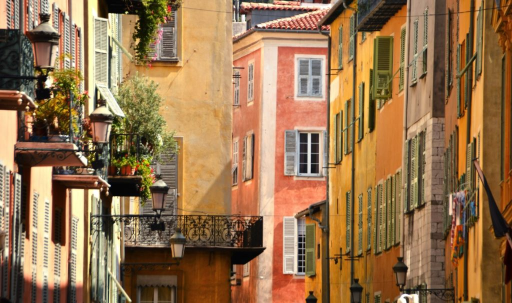 De oude stad van Nice