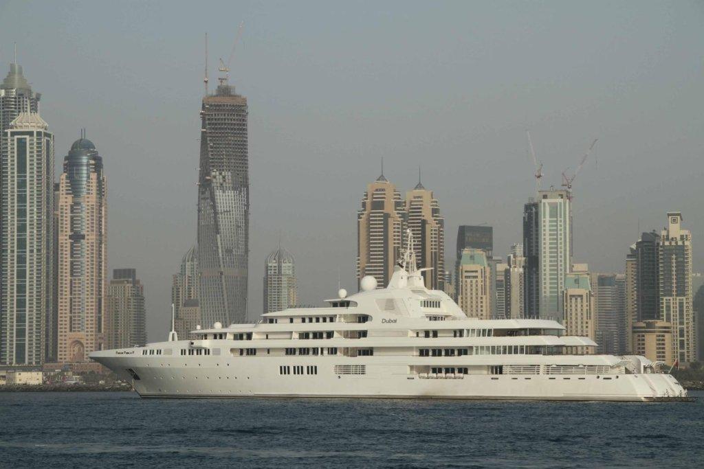 Dubaï luxury yachts