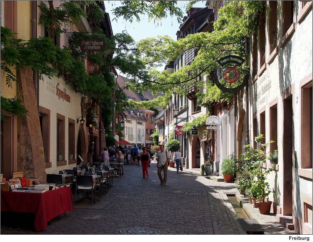 Konviktstraße Freiburg Sehenswürdigkeiten