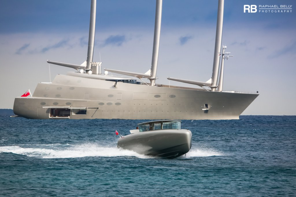 The Sailing A luxury yachts