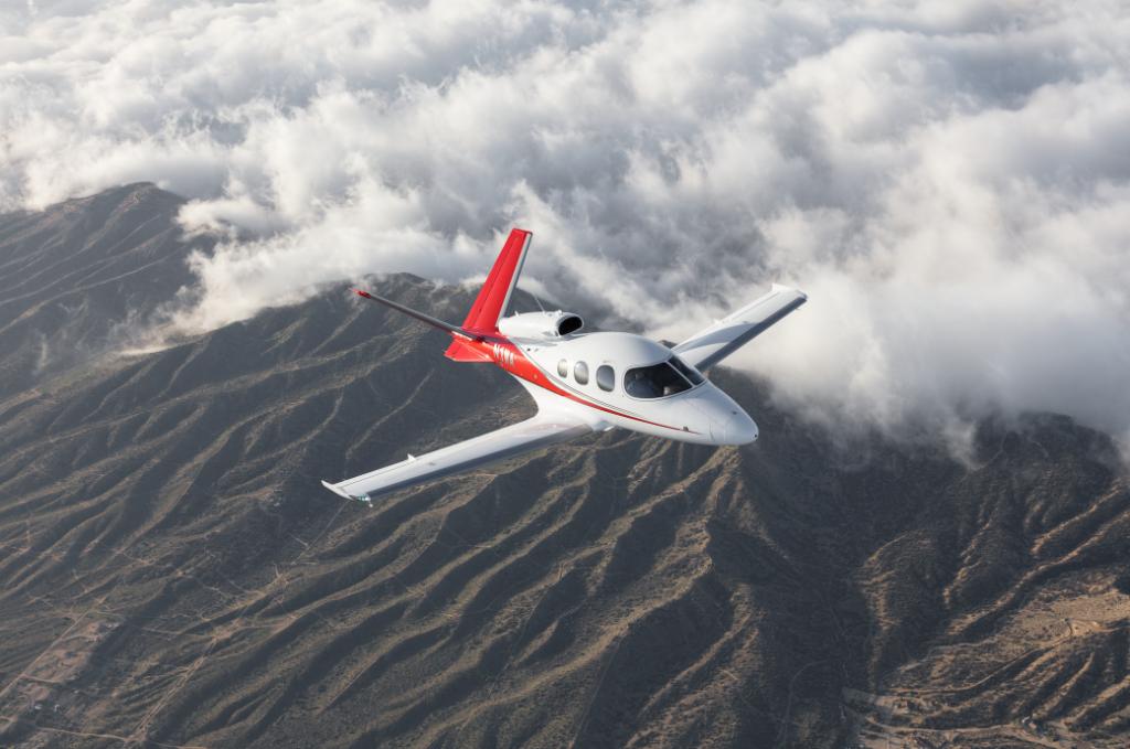 Avions pas cher : le Cirrus SF50 Vision Jet