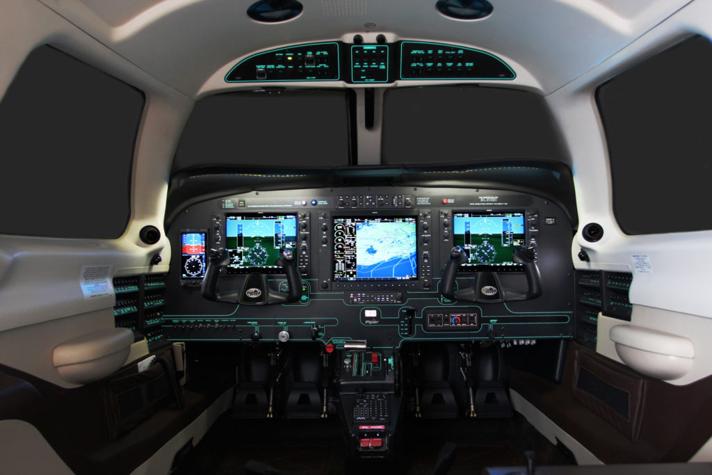 Piper PA46 Meridian Cockpit