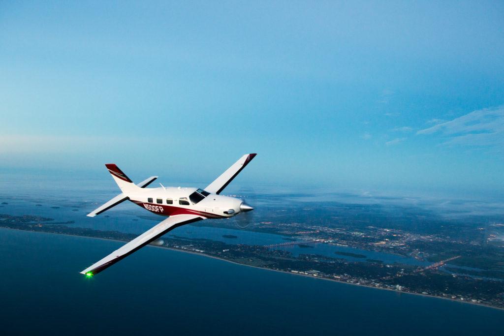 Piper Meridian PA46 Fly Aeolus fleet