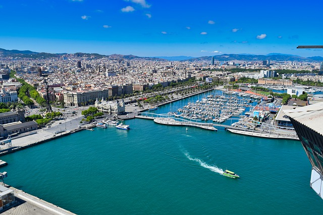 Going to Barcelona Superyacht show by air taxi